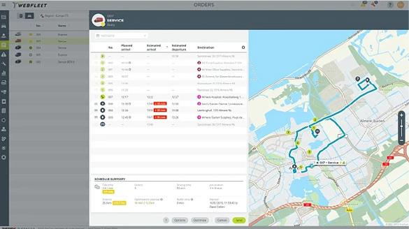 WEBFLEET PSV fleet solutions