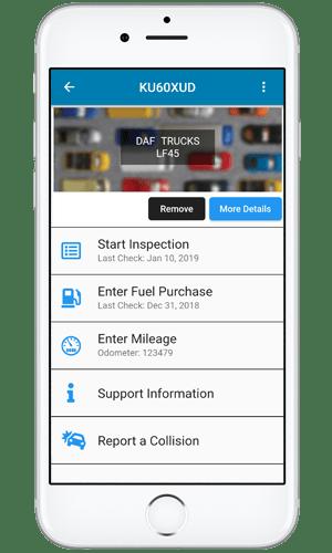 FleetCheck Driver app